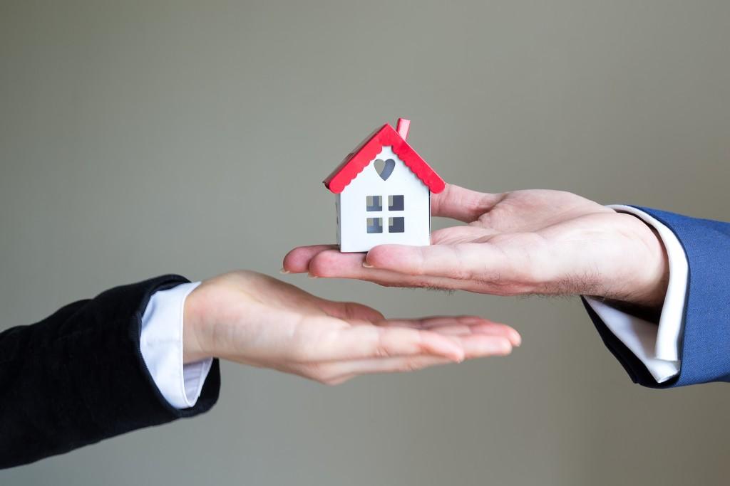 handing over house model